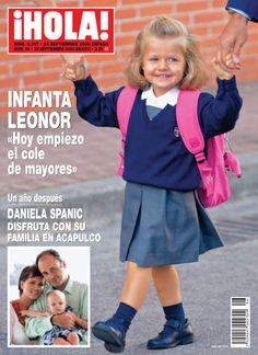 En nuestro #tbt de hoy recordamos el primer día de colegio de la Princesa Leonor de Asturias