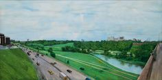 Don Valley on a Grey Day William Kurelek 1972 William Kurelek, Art Gallery Of Ontario, Group Of Seven, Catholic Religion, Art Brut, Canadian Artists, Outsider Art, Roman Catholic, Book Art