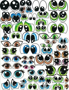 Clay Pot Crafts, Rock Crafts, Paper Crafts, Doll Face Paint, Flower Pot People, Cartoon Eyes, Doll Eyes, Anime Eyes, Painted Rocks