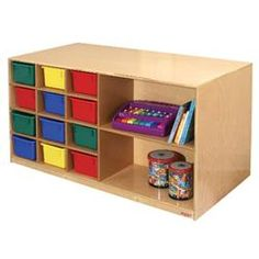 Wood Designs™ Double-Sided Storage Unit