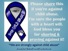 Stop child abuse Purple Ribbon, Human Trafficking, Awareness Ribbons, Domestic Violence, Life Quotes, Children, Quotes About Life, Young Children, Quote Life