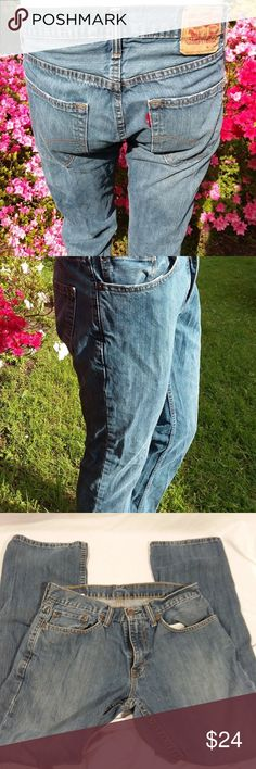 Levis 559 Jeans 31x30 Straight Leg Denim Waist 31 inches (78.5cm)  Rise (front) 10 inches (25.5cm) Rise( Rear ) 14.5 inches (37cm)  Inseam 30 inches (76cm)  Watch Pocket 2 front slip in pockets with rivets  2 rear slip in pockets  Arcuate has double stitching  Patch state 31x32Zip Fly and Snap Button Closure  Free of rips, tears, stains etc. Levi's Jeans Levis Jeans, Denim, Fashion Tips, Fashion Design, Fashion Trends, Man Shop, Legs, Best Deals, Jeans