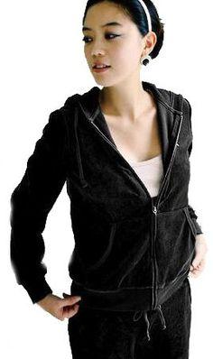Amazon.co.jp: FrontStage ファッションショップ・ベルベット風・黒ルームウエア上下: 服&ファッション小物通販