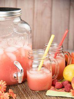 Paleo Peach And Raspberry Lemonade....Ingredients 3 peaches, sliced 6 oz. raspberries 1 cup freshly squeezed lemon juice 6 cups cold water 3 tbsp. raw honey (optional)