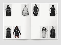 S/S14 Vicious women Editorial Layout, Editorial Design, Typography Prints, Typography Design, Mise En Page Lookbook, Print Design, Graphic Design, Ecole Art, Book Design Layout