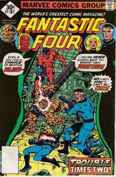 Fantastic Four 1961 1st Series 187  October 1977 by ViewObscura, $4.00