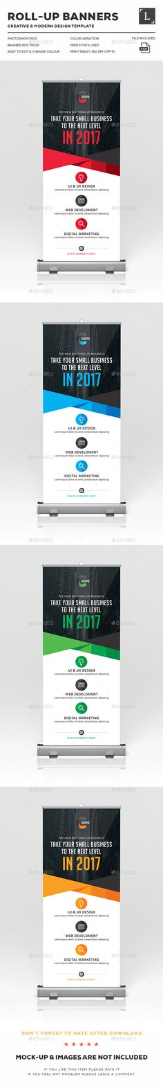 Corporate Roll-Up Banner - Signage Print Template PSD. Download here: http://graphicriver.net/item/corporate-rollup-banner/16616242?s_rank=717&ref=yinkira
