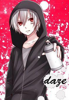 Tags: anime, pixiv id mafumafu, barcode, spray can, fanart from pi Anime Neko, Manga Anime, Fanarts Anime, Anime Characters, Anime Art, Manga Boy, Manga Cute, Anime Guys With Glasses, Hot Anime Guys