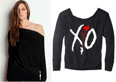 The Weeknd // XO the weeknd // The weeknd shirt // by OlympicInk, $32.00