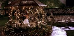 The gazebo scene from A Cinderella Story aka exactly how I would want my wedding to look
