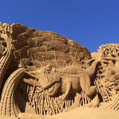 Sand Sculpture Festival in Denmark