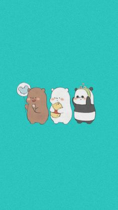 We Bare Bears Wallpapers, Bear Wallpaper, Wall Papers, Paper