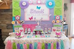 Girly Lego Friends Birthday Party via Kara's Party Ideas | Full of party ideas, printables, recipes, supplies, favors, and more! KarasPartyIdeas.com (28)
