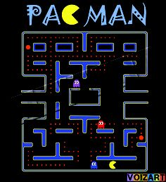 PACMAN Posters.