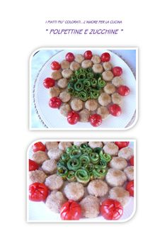 polpettine e zucchine