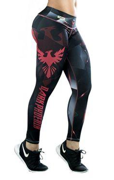 Fiber - Dark Phoenix Leggings