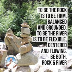 Rock & River are two principles of Systemic #NLP that help you build and sustain healthy boundaries.