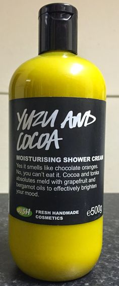 LUSH UK | Oxford Street | Yuzu And Cocoa Shower Cream - This is my absolute favourite smell ever!!!
