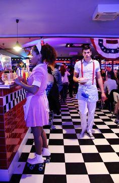 interior2 1950 American Diner