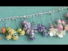Purse Charm Tutorial ~Attaching the Clasp and Beads~ - YouTube