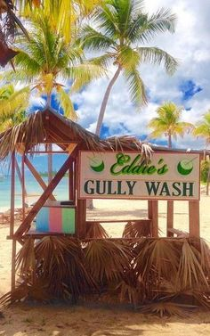 Have you had a Bahamian Gully Wash? Teasers (at Old Bahama Bay) serves the best! West End, Grand Bahama Island