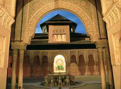 Patio de los Leones (La Alhambra). Foto: Patronato Turismo de Granada
