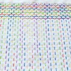 Sashiko multicolor