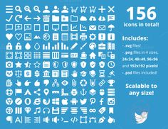 Responsive Icon Set by IconDeposit on Creative Market