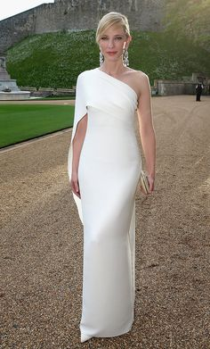 Cate Blanchette wearing Ralph Lauren.  One of 10 Best Dressed: Week of, May 19, 2014 – Vogue (=)