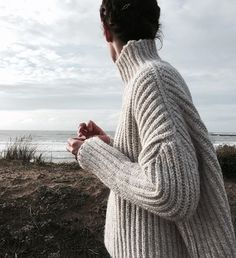 chunk knit #style #fashion