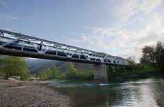 Railroad Bridge over Sella River, Llovio, Spain