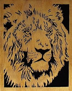 lion Scroll Saw Patterns | lion king the king of beasts is the majestic lion size w x h 12 x 15 ...