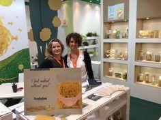 Simona e Letizia   Andalini ad Anuga 2015, Colonia, Germania   Andalini News www.andalini.com