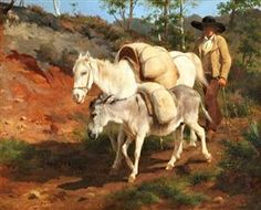 The Return from the Mill - Rosa Bonheur