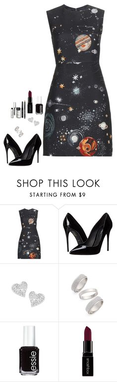 """""""Untitled #443"""" by h1234l on Polyvore featuring Valentino, Dolce&Gabbana, Vivienne Westwood, Topshop, Essie, Smashbox, Bobbi Brown Cosmetics, women's clothing, women's fashion and women"""