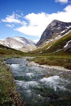 Mountains around #Geiranger by Pieter-Jan #Volders, via Flickr