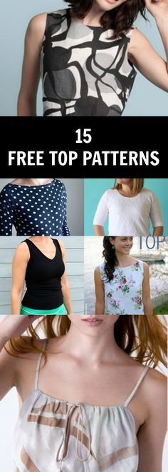 Free PDF Sewing Patterns: Learn how to sew, and create easy sewing projects and tutorials with our FREE SEWING PATTERNS, PDF available to download