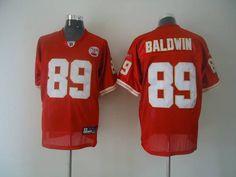 Chiefs  89 Jonathan Baldwin Red Stitched NFL Jersey Sports Jerseys 834b6268e1f