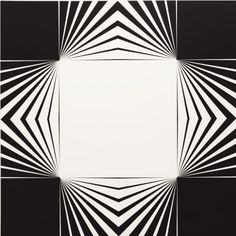 Marcello Morandini (Italian, b. Progetto 264 A, Lacquered wood, 100 × 100 × cm. Grafic Art, Geometric Symbols, Geometry Art, Pattern Illustration, Op Art, Mandala Design, Illusions, Abstract Art, Texture