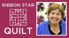 This is a beginner quilting strip pattern to make your inch strips (jelly rolls) into simple Ribbon Star blocks! Jenny Doan of MSQC uses Buggy Barn Basics fabric by Henry Glass to sew this traditional quilting pattern. Star Quilt Blocks, Star Quilt Patterns, Star Quilts, Easy Quilts, 24 Blocks, Sewing Patterns, Jenny Doan Tutorials, Msqc Tutorials, Quilting Tutorials