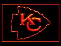 Kansas City Chiefs Neon Lights