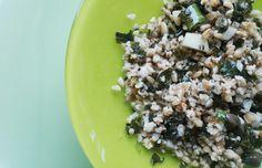 Vegatopia - Groen met citroen: salade van freekeh en boerenkool :: recept