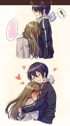Yato and Hiyori They're so cute together!