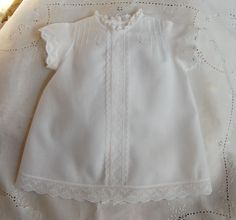 The Old Fashioned Baby Sewing Room: White Wednesday- Pretty Sew Beautiful Dress