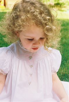 Lillian pattern by Collars, Etc. Pattern Co. in white Swiss batiste.  Front features shadow work and surface embroidery. Hand made tatting at neck and sleeves.