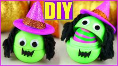 DIY Witch EOS! Make Cute Halloween Lip Balms | Halloween Party Favors!