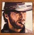 "Clint Eastwood Josey Wales  18""x18"" Pop Art Painting Cargill"