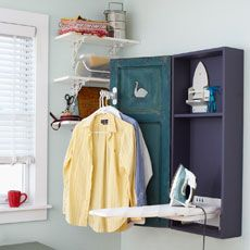 How To Make A Shutter-door Ironing Cabinet