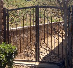 Full Arched Hand Forged Wrought Iron Gate Products I