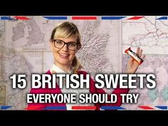 "In British Sweets Everyone Should Try,"" host Siobhan Thompson of the BBC America web series Anglophenia shares her thoughts about several iconic British sweets, both the good and the bad. If yo. British Candy, British Sweets, English Food, Learn English, English Sweets, Cadbury Flake, British Slang, East Coast Usa, Moving To The Uk"